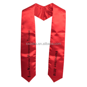 Adult embroidered graduation stole/sash