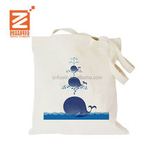 Promotional recycled foldable tote reusable shopping cotton bag foldable tote bag