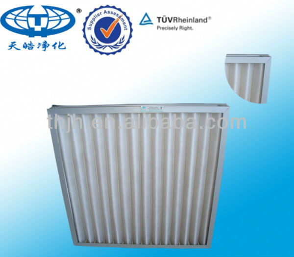 AHU Flat Air Filter for Air Filter System
