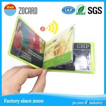 Latest Technology Soft Plastic RFID Blocking Bussiness Card Sleeve
