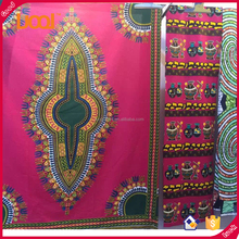 Guangzhou Factory Price wholesale african wax print fabric