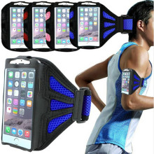 Armband Adjustable Arm Band Case for iPhone 4 4S, Gym Running Sports Case Cover Holder Jogging Bracadeira