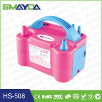 2015 CE Approval ABS material electric balloon inflator air pump
