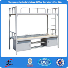 china hotel hostel army school dormitory dorm metal double deck bunker beds strong heavy steel bunk bed manufacturer