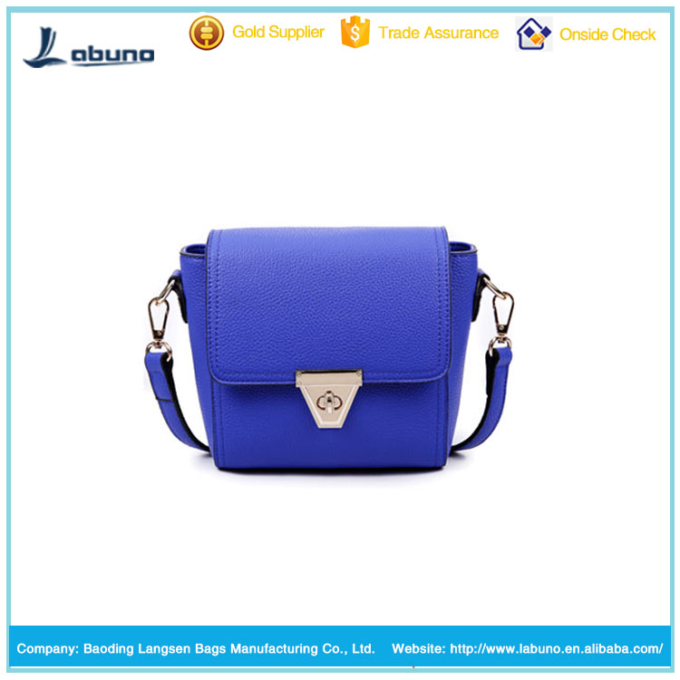 hot sale litchi pattern PU leather shoulder bag teen fashion lady shoulder bag small bags