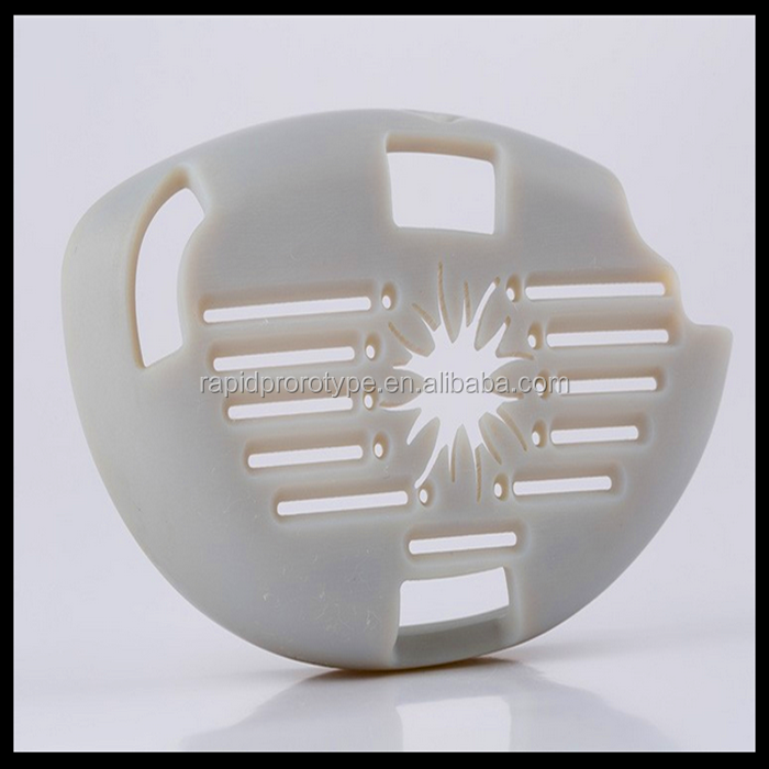 White ABS smooth surface finishing cnc rapid prototyping design model