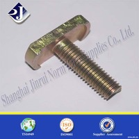 M10 Stainless steel all threat T bolt