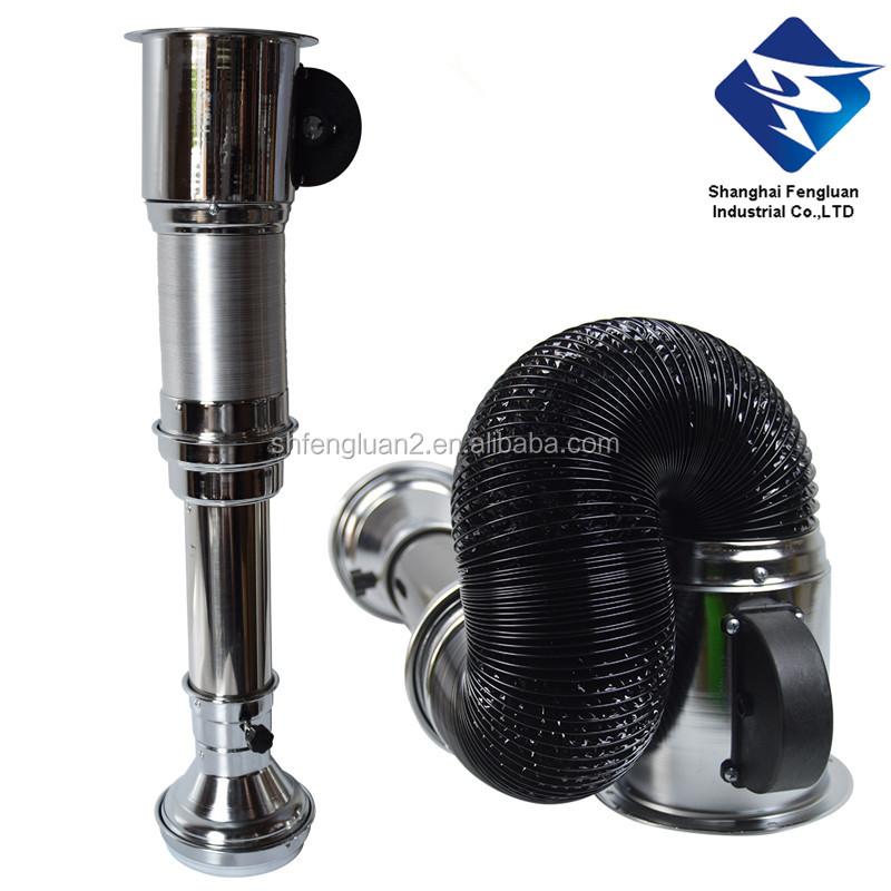stainless steel exhaust bbq pipe fan smoker korean bbq exhaust buy