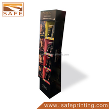 Customize printing point of sales cosmetic display unit