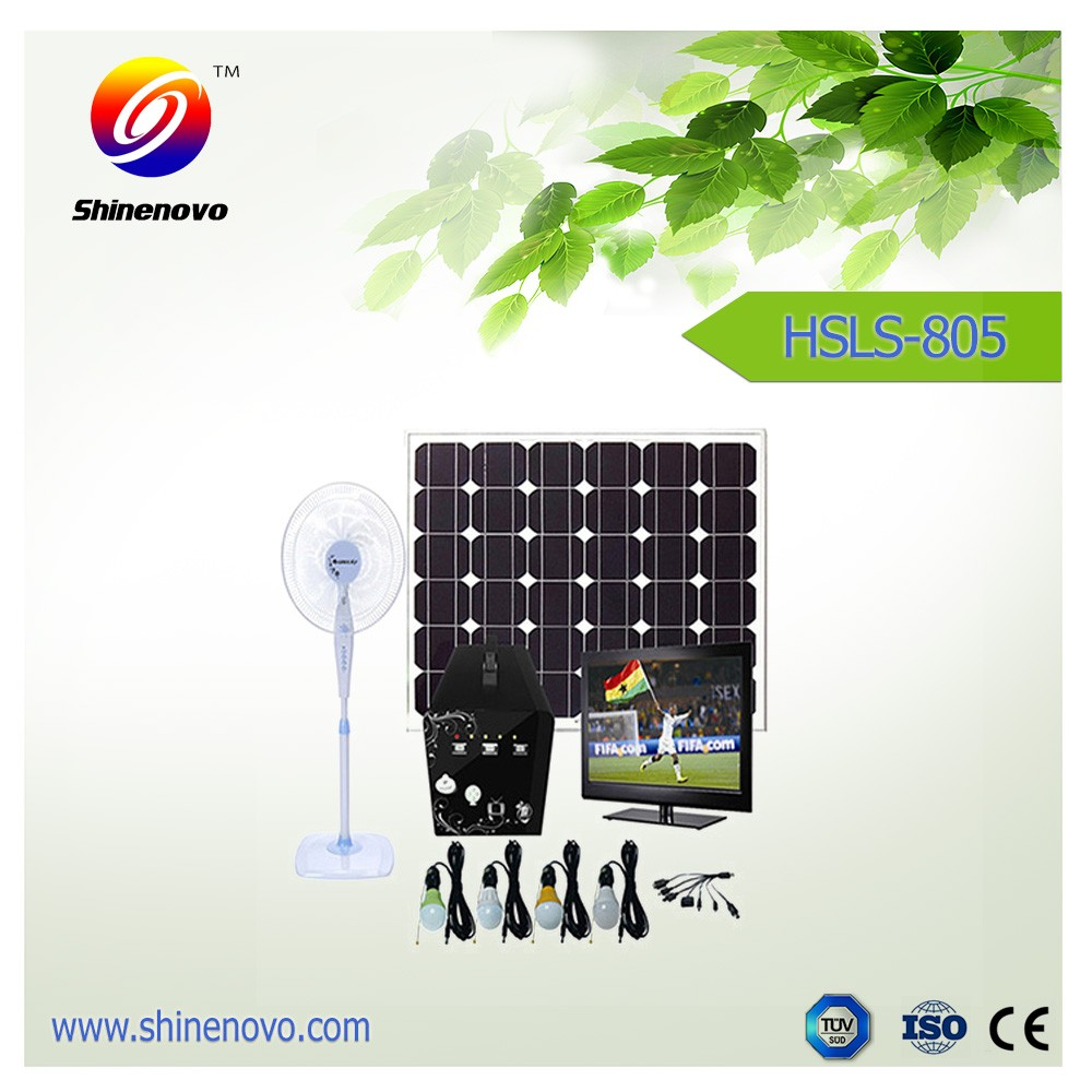 Chinese factory 60W mobile home solar panel system