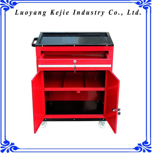 Cheap industrial tool cabinet draws medium tool trolly box spanner set in alibaba