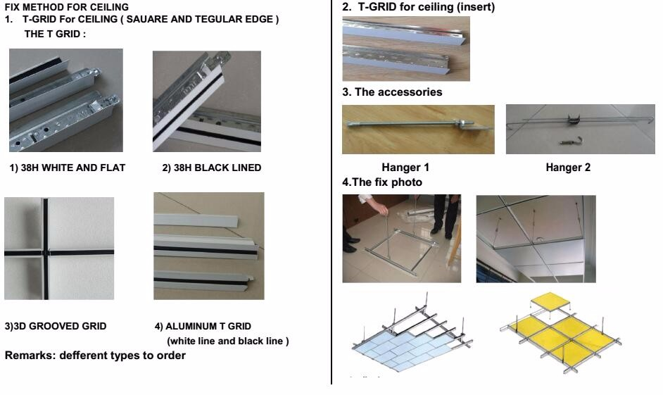 Decorative Fiberglass Acoustic Ceiling Tile For Exhibition Hall