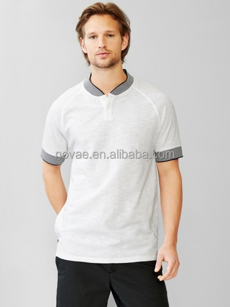 Cheap promotional white 100 cotton polo shirt men herny for Cheap polo collar shirts