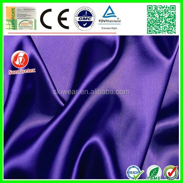 popular woven high quality silk fabric hand painted