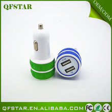 Trade Assurance 2015 hot sell high quality universal micro 5v 1A double usb car charger