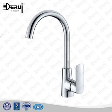 unique deck mounted single lever brass kitchen sink faucet