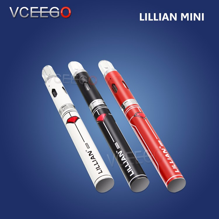 Newest wax vaporizer products lillian mini electric cigarette lillian mini vaporizer cartridge empty top selling now