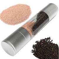 Stainless Steel Salt Grinder - Adjustable Ceramic Grinder Cool color