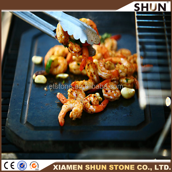 17-Inch Stone Grill Set/Hot Stone Cooking/Cheap Price Steak Stone