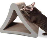 Hot Selling Cheap Corrugated Cardboard with Catnip sleeping,cat bed.Cat Scratcher ,Cat toy