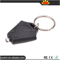 Mini Portable Rhombus Plastic keychain White Light LED Keychain