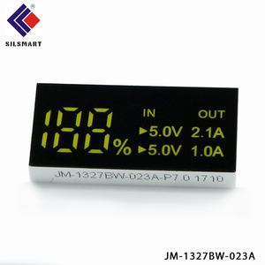 China small led display two digit 7 segment led display for POWER BANK