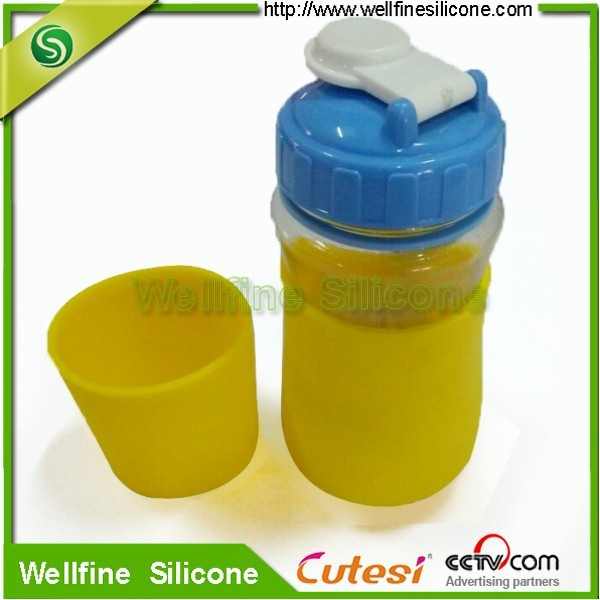 Cup sleeve / factory price silicone cup sleeve