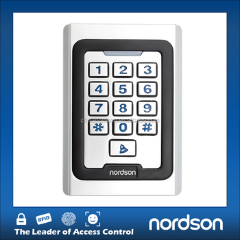 NT-250 waterproof Metal RFID with Keypad access control