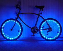 2 Meter 21Lights Decorative Led Copper Wire Lamp String Bicycle Wheel Light