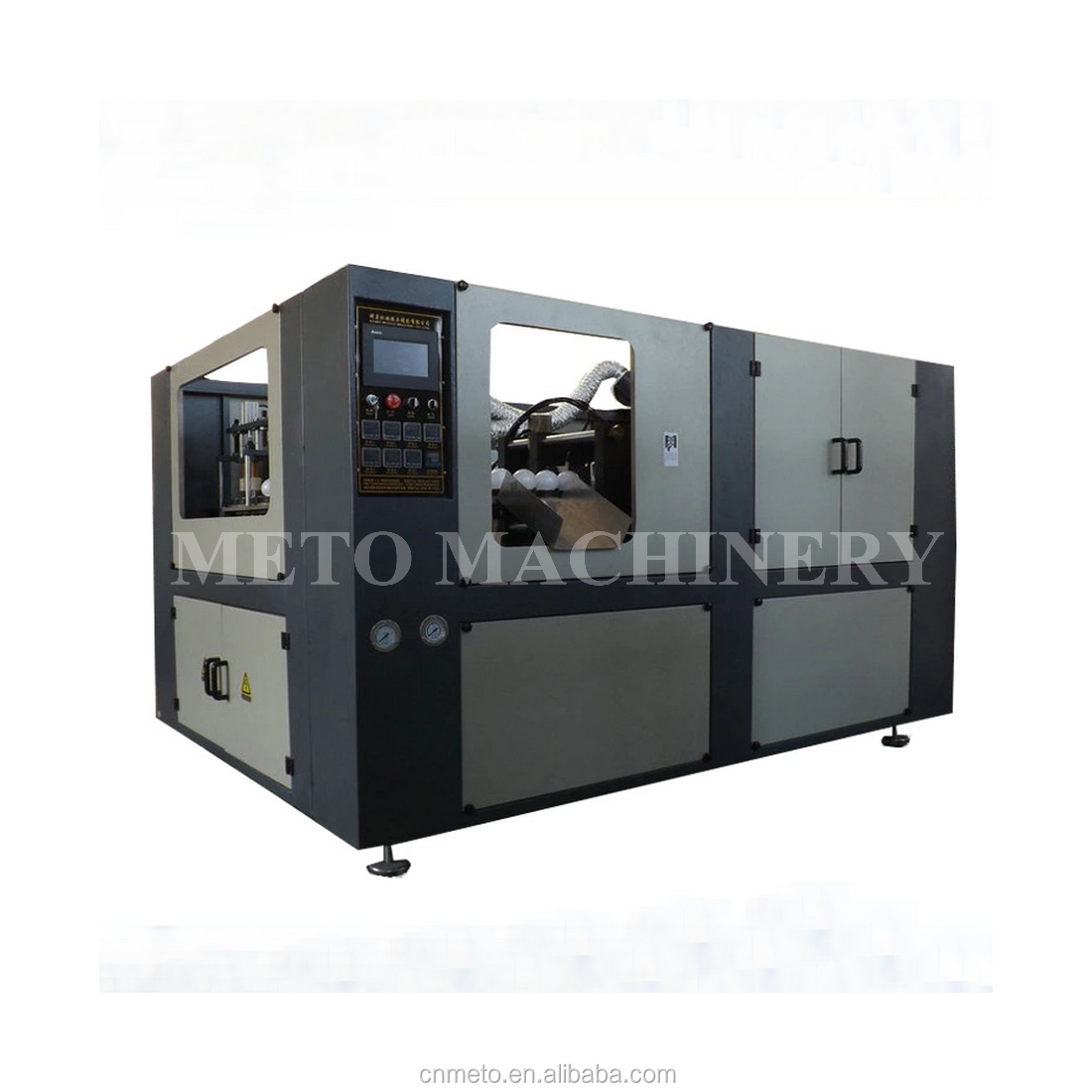 Plastic LED lamp cover making blowing machine