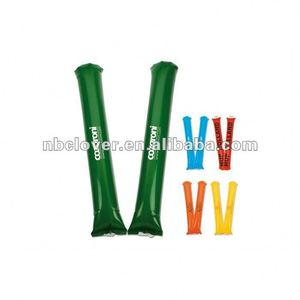 inflatable clapper sticks for football fans