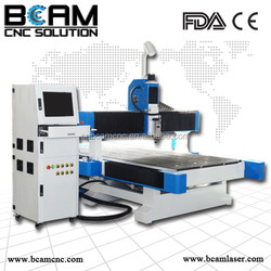 Heavey duty body cnc router kit for woodworking machine with dust cover /furniture making machine /1325 machine