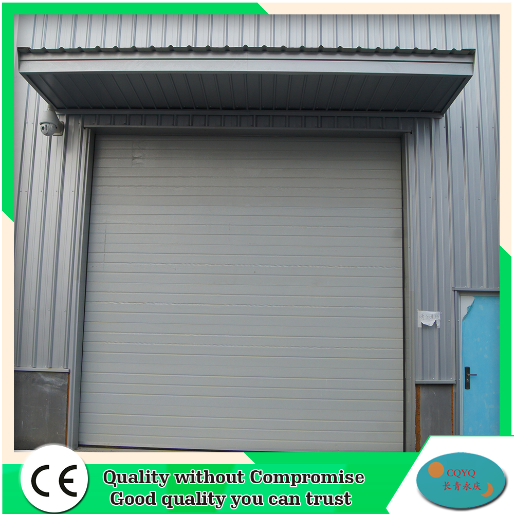 Warehouse Sliding Automatic Sectional Industrial Door