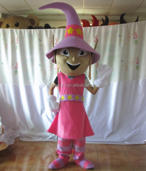 Adult witch costume/women mascot costume for Carnival