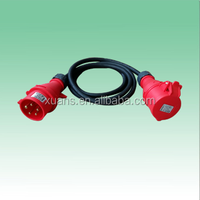 CEE 3P+N+E industrial plug and socket Extension Leads