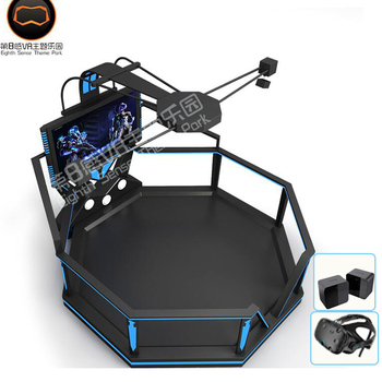 Newest design 9d vr video game standing up battle game simulator 9d vr battle