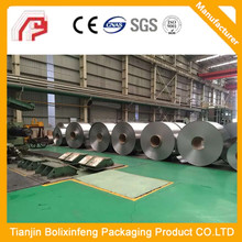 spte material T 4 BA DI Electrolytic tinplate coil, Food grade tinplate sheets price of tin
