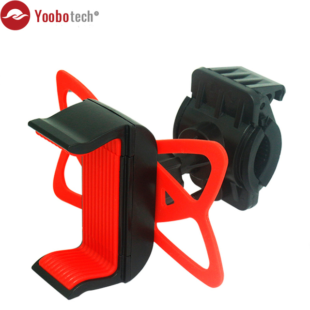 Universal Cell Phone Bicycle Rack Handlebar&Motorcycle Bike Mount Adjustable Phone Holder for iPhone 6 6(+) 6S