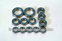 High Performance TEAM INTEGY i10B 4X4 1/10 BUGGY ceramic bearing kits with different rubber seal color