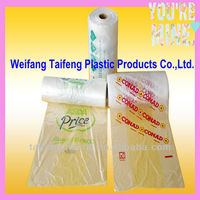 HDPE plastic bag with printing