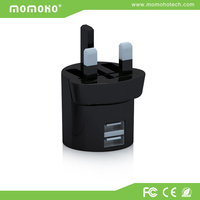 Original Fast Adaptive UK Plug Travel usb dual wall charger