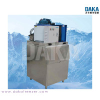 Flake ice machine with Danfoss compressor for Seafood or Beverages