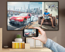 85 inch big size super slim 4K Smart E-LED TV with metal case and Quad core processor, 8G Memory and 1G Ram, Android system,