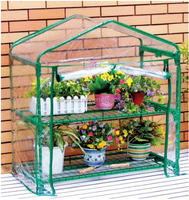 Plastic cover mini greenhouse/Greenhouse in home & garden /Mini palram nature series hybrid