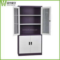 Henan disassembled steel book cupboard used metal cabinets sale library cupboard