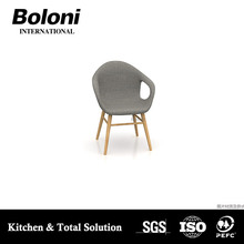 Made in China modern design best price plastic and wooden designer relaxing lounge chair