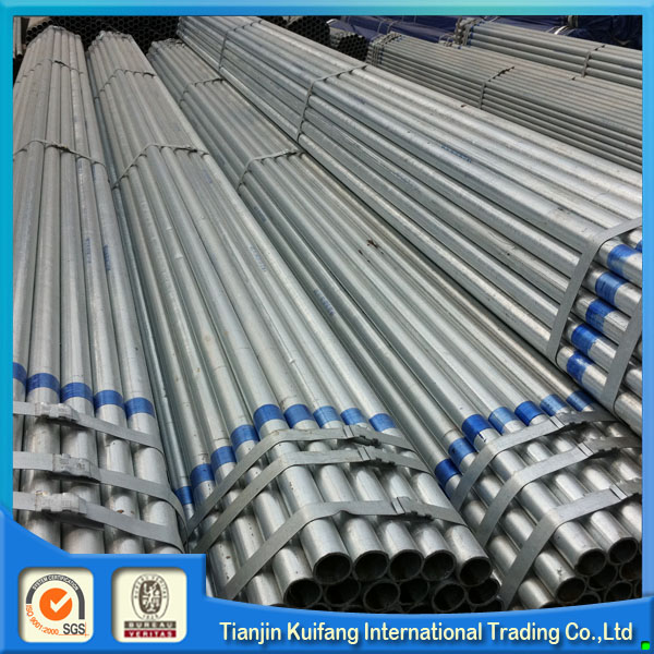 Brand new hot dip galvanized plastic coated steel pipe with high quality