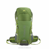 ultra light multi day 50l camping backpack with ykk zippers for long trip