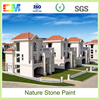 New design resistance exterior wall natural stone paint with water based material