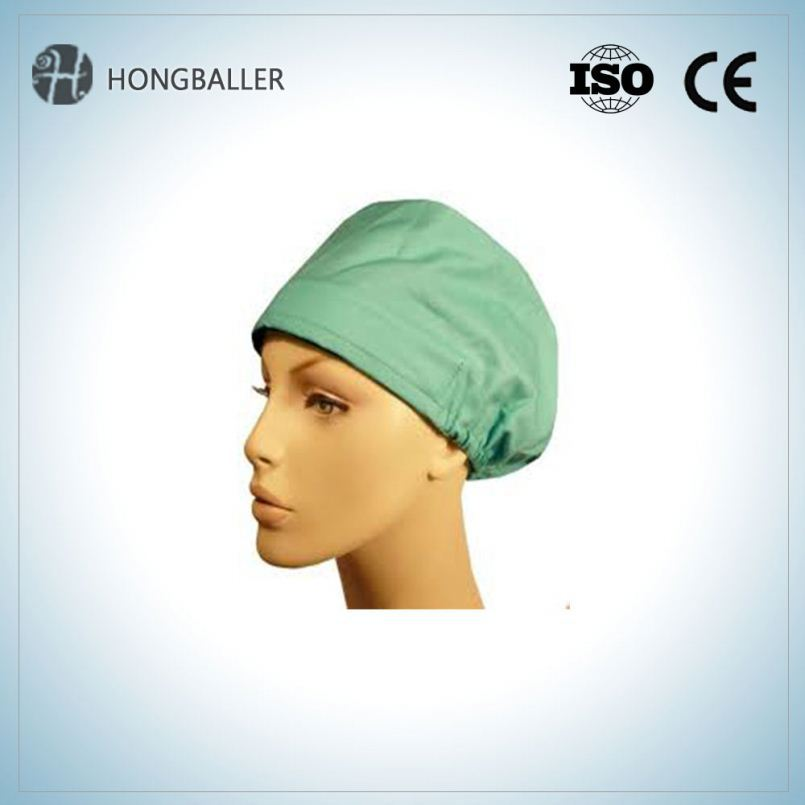 Disposable / Bouffant Clip Cap / Hair Caps Making Net For Doctor And Nurse